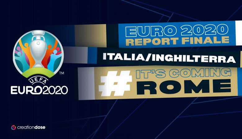 """""""It's coming home"""" VS """"Notti magiche"""": la partita social degli #Euro2020"""